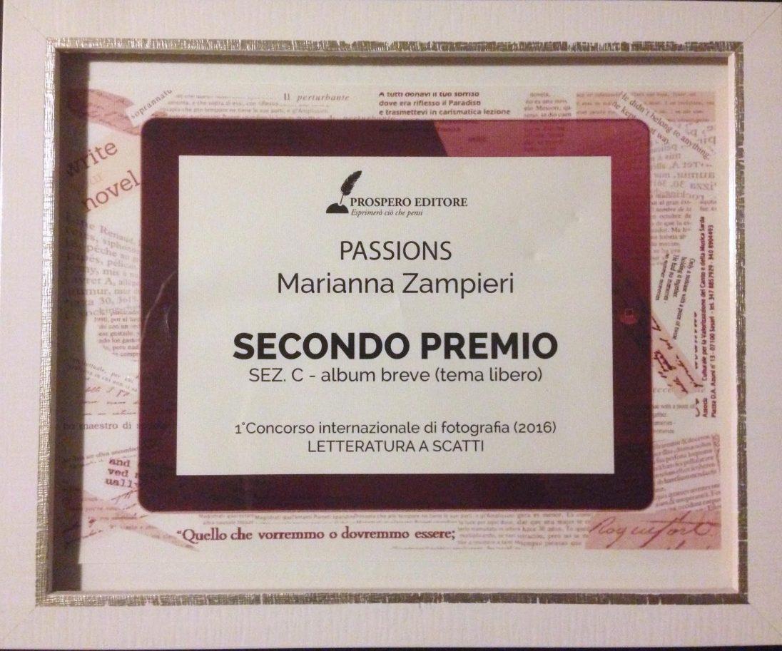 eventi - Premio Concorso Fotografico 'Letteratura a Scatti 2016' di Prospero Editore