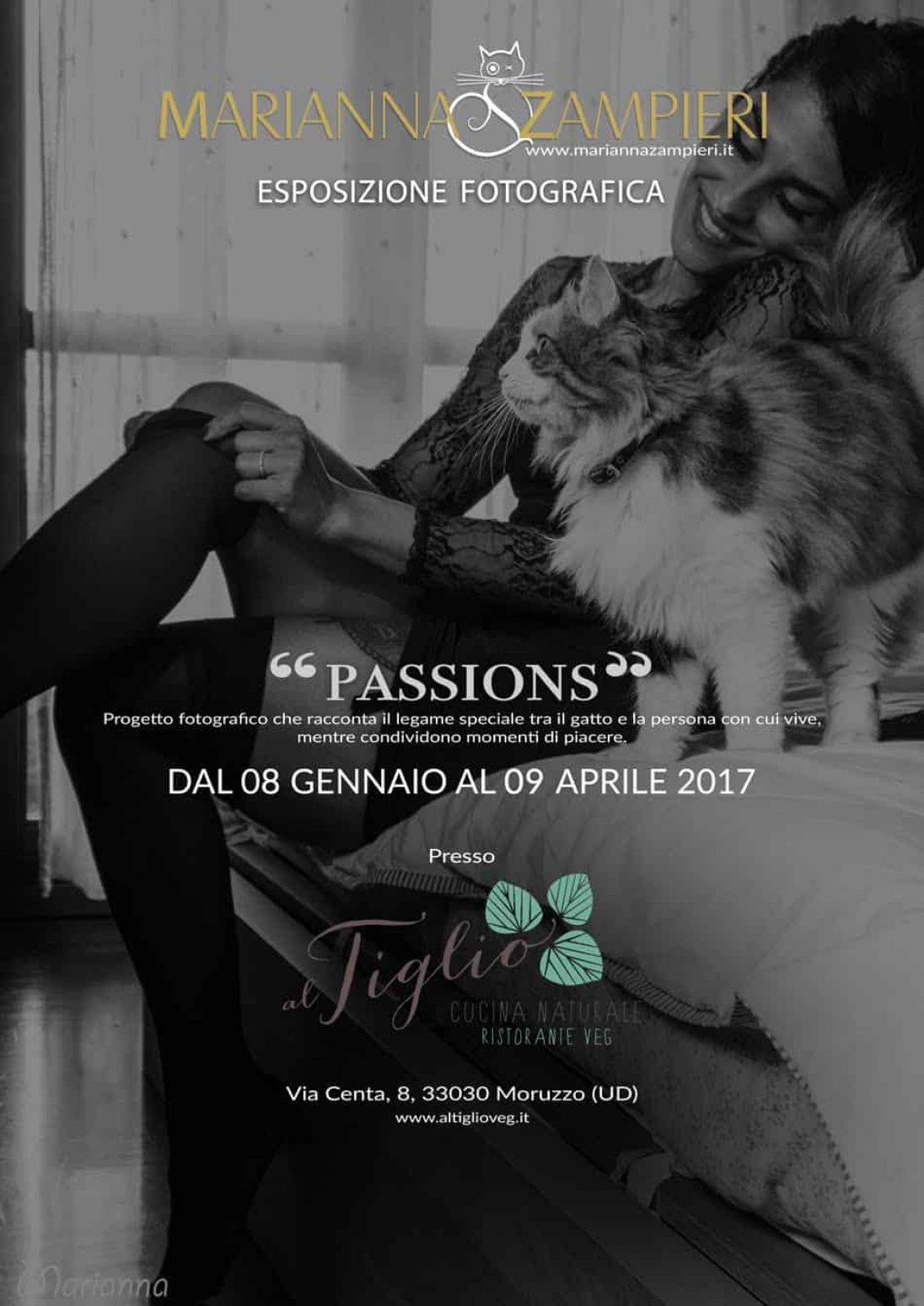 eventi - Esposizione fotografica del progetto 'Passions' presso il ristorante Al Tiglio (Moruzzo-UD)